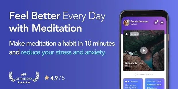 Meditopia هو التطبيق الرائد الذي يساعدك على الحصول على الهدوء ، والحد من التوتر ، والنوم بشكل جيد