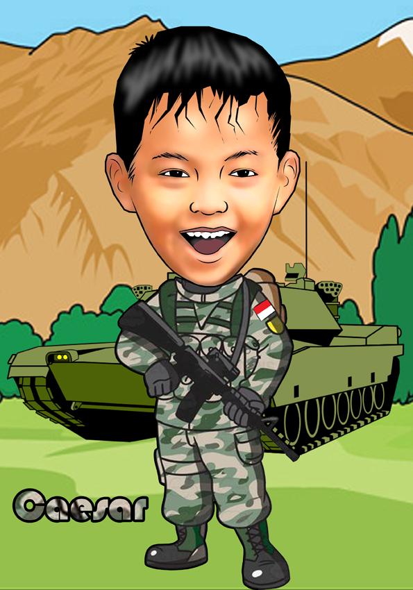 93+ Gambar Animasi Tentara Lucu