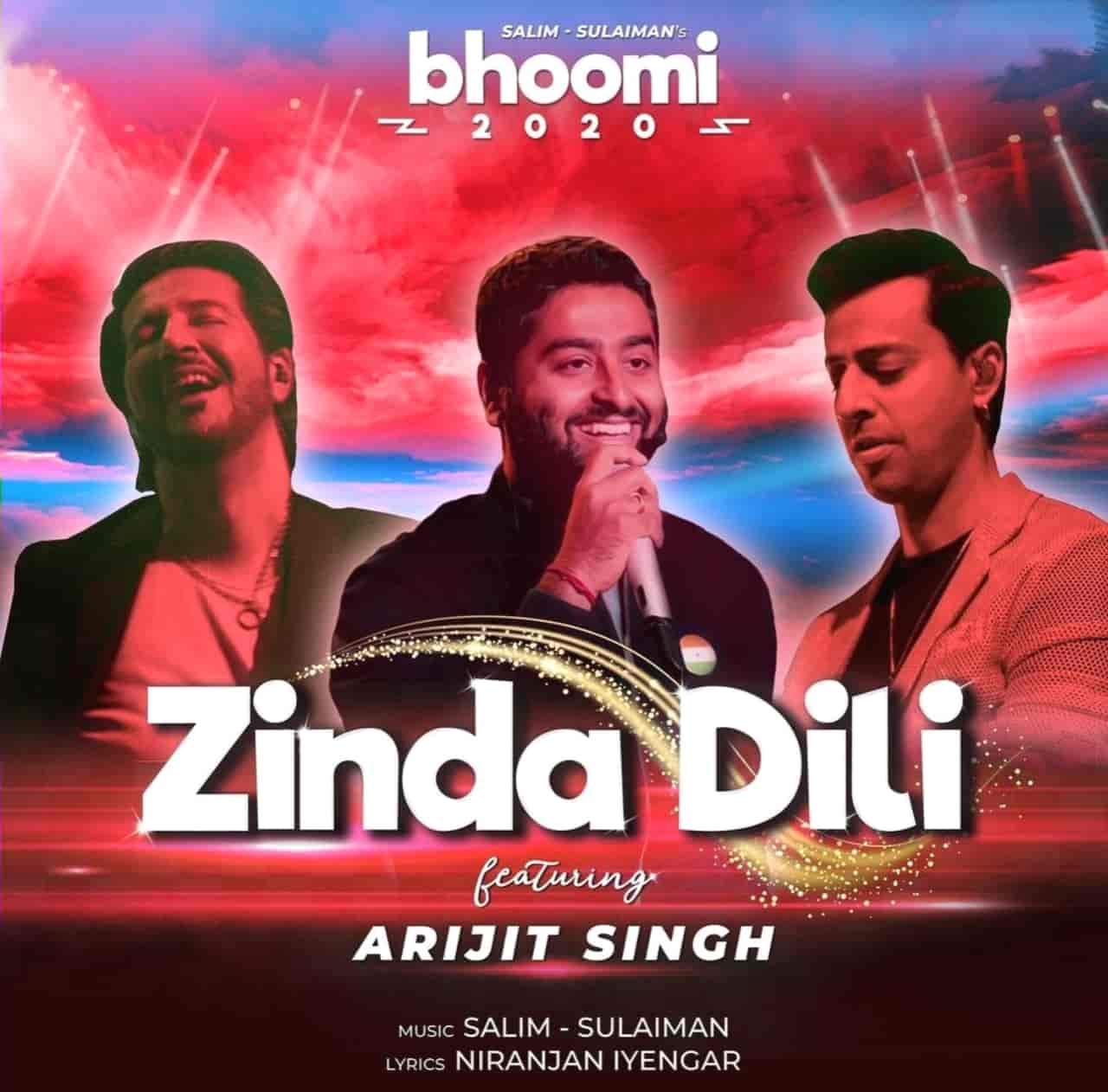 Zinda Dili Hindi Song Image Features Arijit Singh