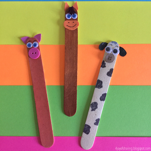 Farm Animal Craft, Popsicle Stick Craft, Kids Craft, Craft for kids, Easy Craft, Old Macdonald had a farm, Dog Craft, Horse Craft, Pig Craft, Wood Stick Craft, Craft Stick