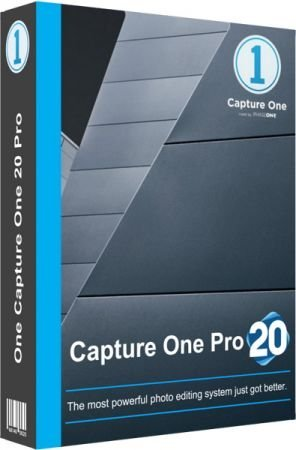 Capture One 20 Pro 13.1.0.162 poster box cover