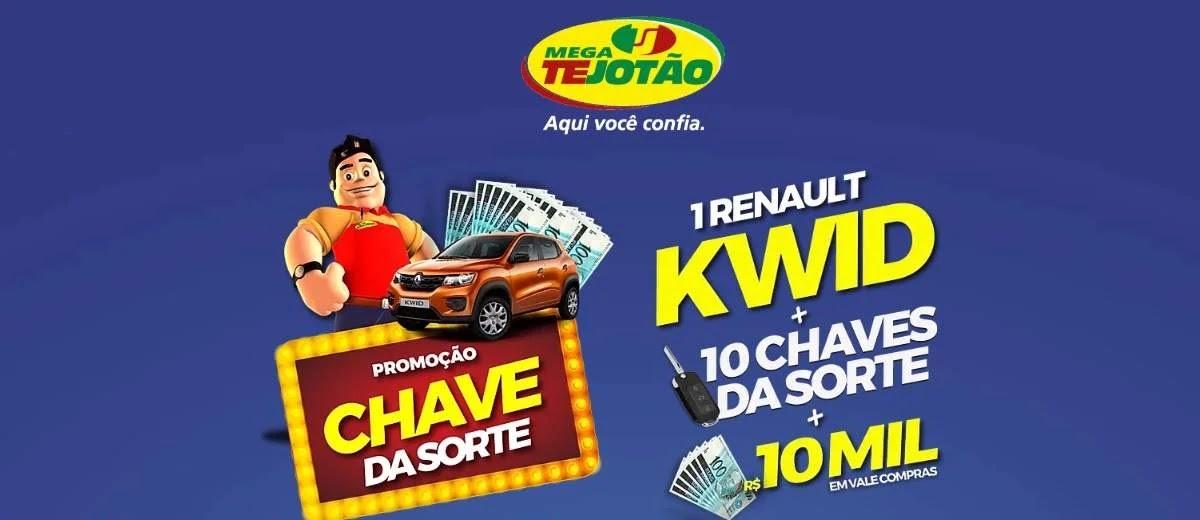 Promoção Mega Tejotão 2020 Carro 0KM e Vales Compras 10 Mil Reais