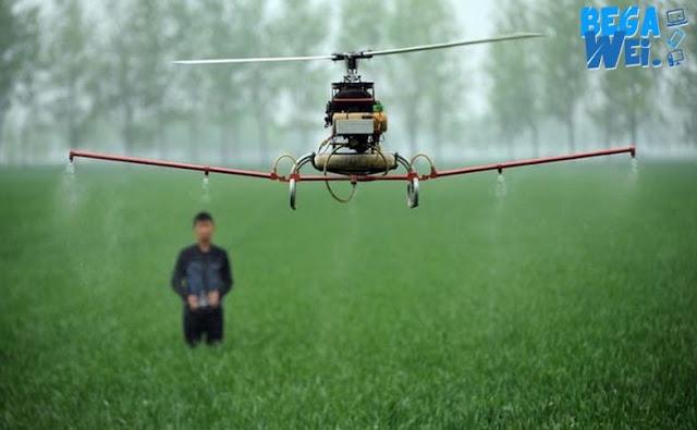 Drone Untuk Pemupukan Tanaman Cepat Simpel