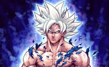 Perfect Ultra Instinct Son Goku Silver Hair