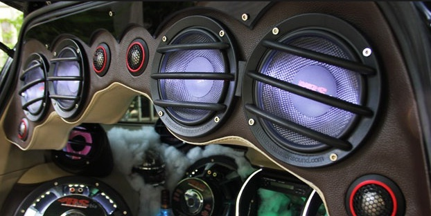 Modifikasi Audio speaker Mobil