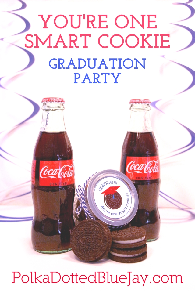 "This cookie themed party would be perfect for celebrating the graduate who is a smart cookie or use this printable to make cookie jars to congratulate the graduate by saying: ""you're one smart cookie!""  #StaterSnacks #ad #CollectiveBias"