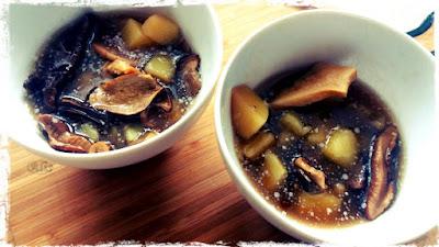 borowiki suszone, prawdziwek suszony, zupa grzybowa