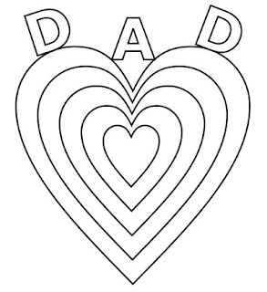 early play templates: Father's Day Cards for kids to make