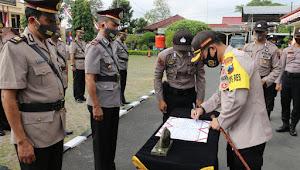 11 Kursi Jabatan Perwira Polres Kebumen Dirotasi Hari Ini
