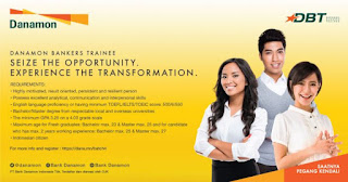 Management Trainee Bank Danamon