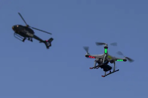 Pleads Guilty to Federal Charge that He Recklessly Operated Drone that Collided with LAPD Helicopter