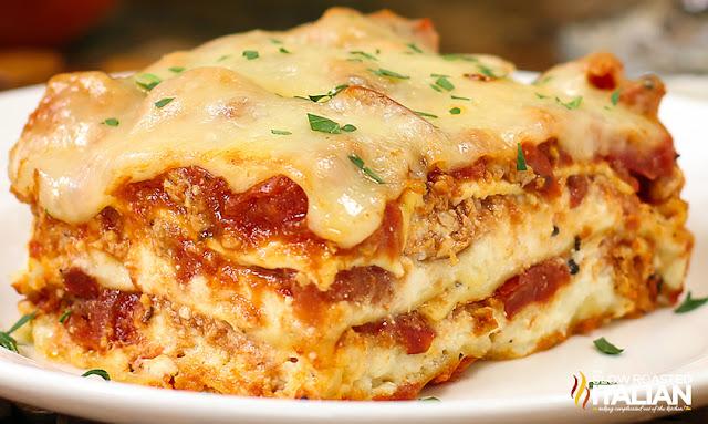 http://theslowroasteditalian-printablerecipe.blogspot.com/2013/04/40-minute-quick-easy-cheesy-meat-lasagna.html