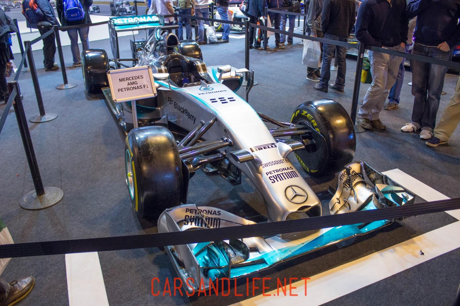 Autosport International Formula 1 Cars