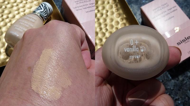 Sisley PHYTO-TEINT ULTRA ECLAT 0+ Vanilla swatches