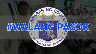 #WalangPasok: Class suspensions, Monday, October 16