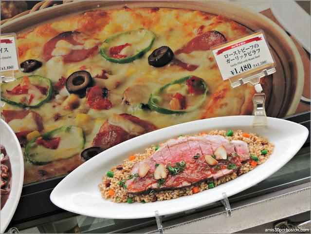 Comida de Plástico en Akihabara, Tokio