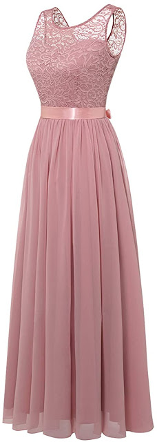 Best Long Pink Bridesmaid Dresses For a Wedding