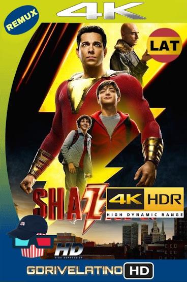 ¡Shazam! (2019) BDRemux 4K HDR Latino-Ingles MKV