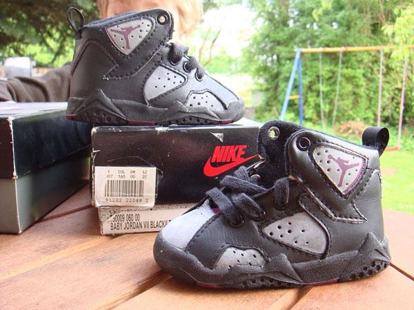 """best authentic 86430 9e588 THE SNEAKER ADDICT: OG Air Jordan 7 """"Bordeaux"""" Toddler Sneaker"""