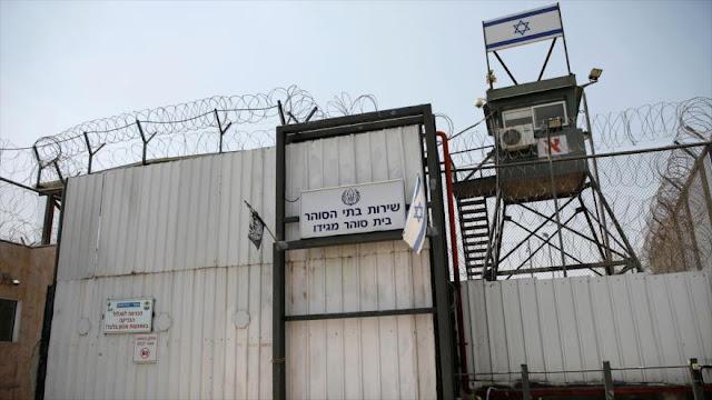 Israel planea construir nuevas cárceles para palestinos