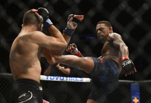 Thiago Moises Michael Johnson UFC on ESPN+ 29