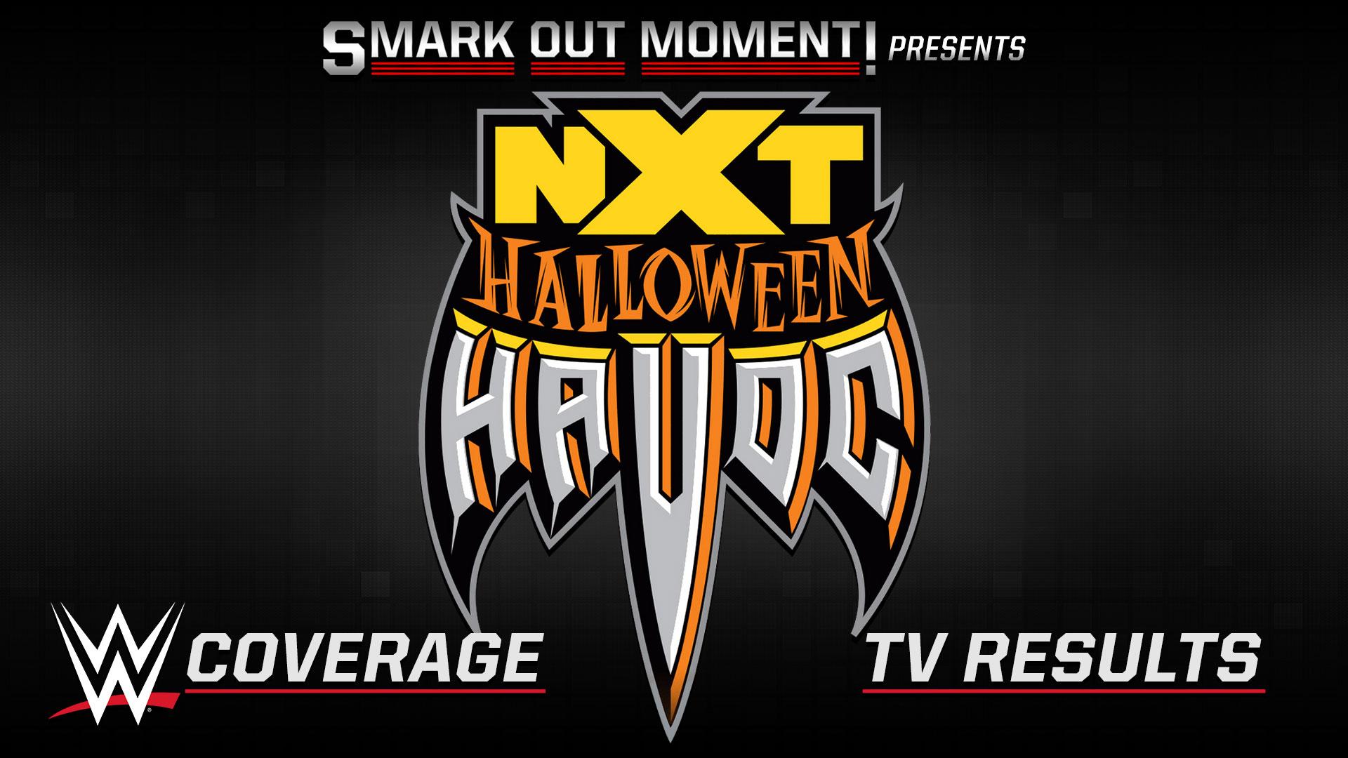 spoilers WWE NXT Halloween Havoc results