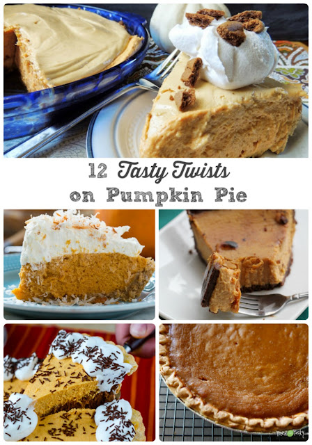 Each of these 12 Tasty Twists on Pumpkin Pie have a little something extra (and delicious!) to take your usual pumpkin pie to the next level.