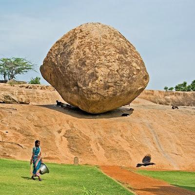 Krishna's butter ball