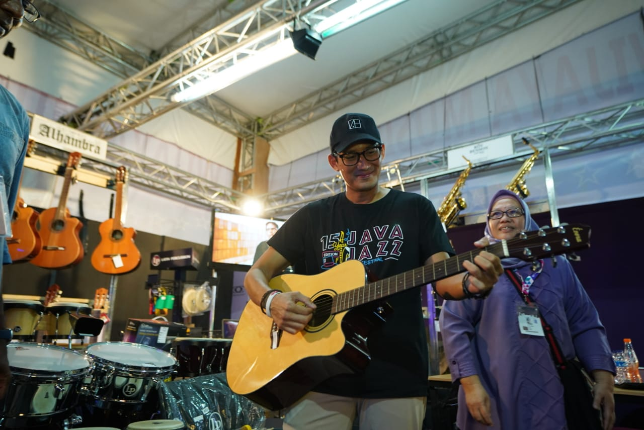 Sandiaga Uno soal festival musik Java Jazz