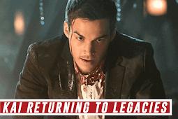 Legacies: Chris Wood to Appear as Vampire Diaries' Kai Parker in Season 2