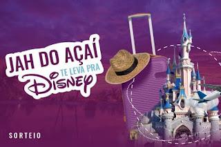 Promoção Jah do Açaí Te Leva Para Disney 2019
