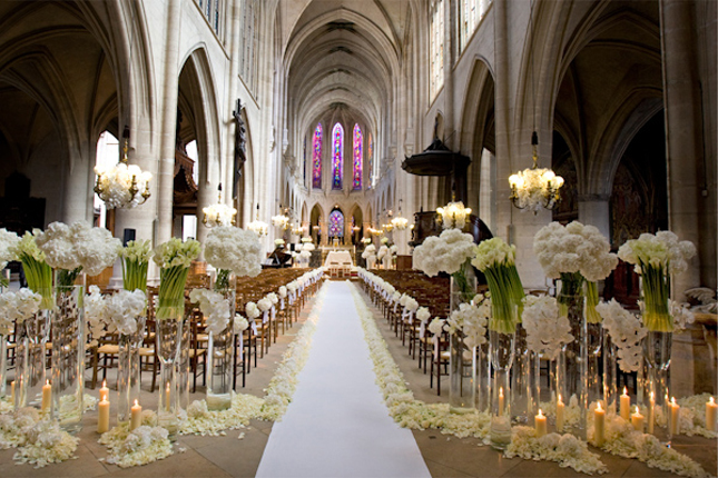 Mind-Blowing Wedding Ceremony Decor - Belle the Magazine . The ...