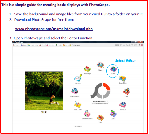 photoscape tutorial guide