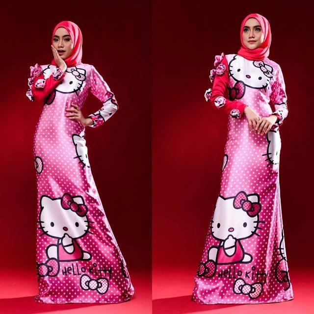 Koleksi Baju Raya Hello Kitty Untuk Golongan Dewasa