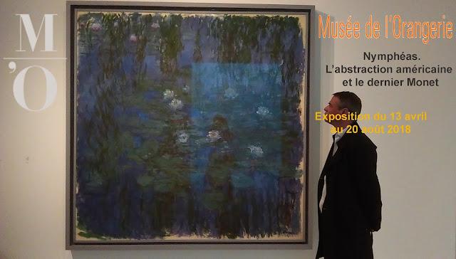 Musée de l'Orangerie exposition d'art contemporain