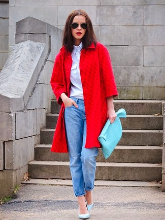 Baby Blue + Red