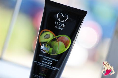 Maska Love2Mix Organic z efektem laminowania - czytaj dalej »
