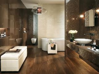 Decoración baño lujo