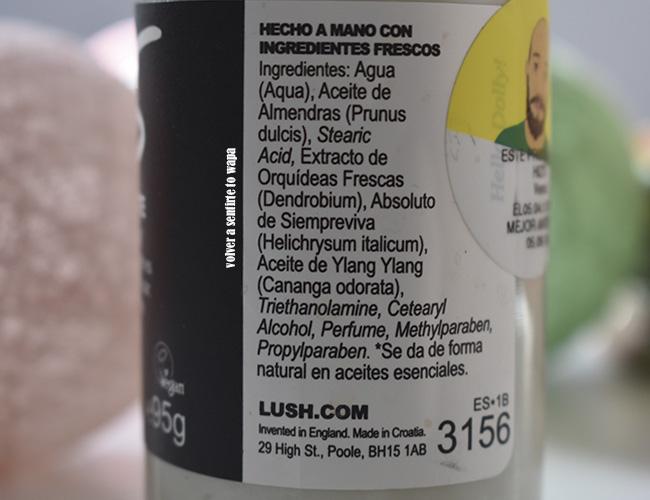 Desmaquillante líquido 9To5 de Lush