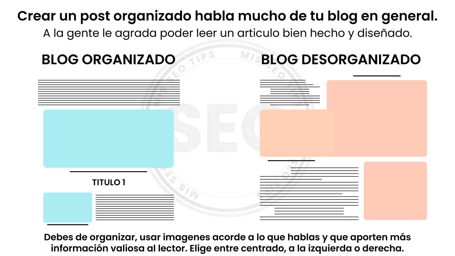 Como organizar tu blog en blogger 2020