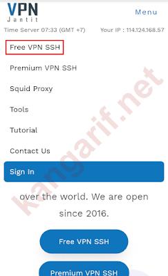 klik free vpn ssh