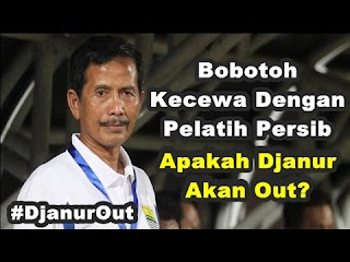 Persib Gagal Menang, Bobotoh Ramaikan Tagar #DjanurOut di Twitter