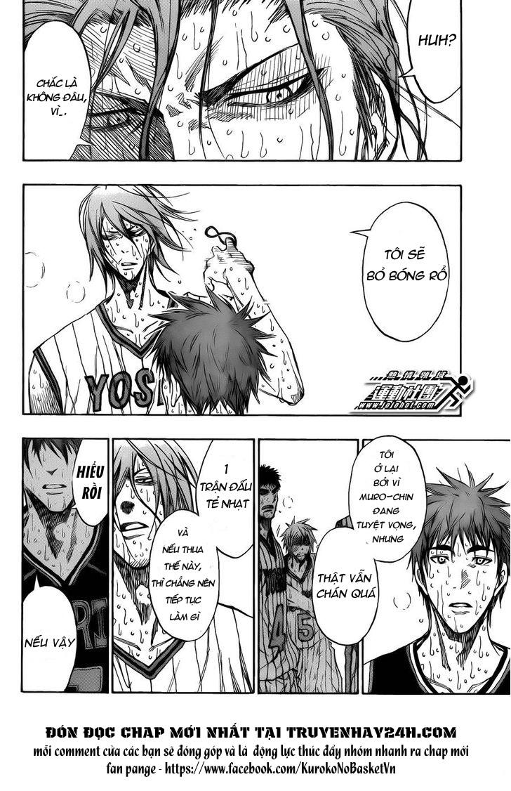 Kuroko No Basket chap 169 trang 8