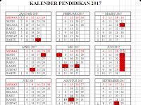 Download Kalender Pendidikan Tahun 2017 dengan Rincian Hari Libur