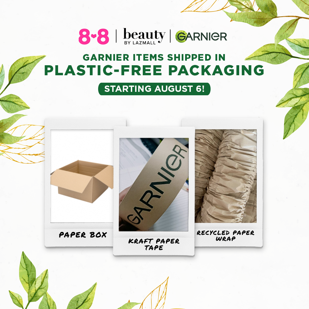 GARNIER PHILIPPINES, LAZADA, AND CORA PARTNER TO HELP FILIPINOS TAKE #ONEGREENSTEP FOR THE PLANET