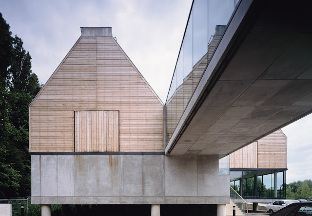 River and Rowing Museum in Oxfordshire  David Chipperfield  Plants + Sections + Photos