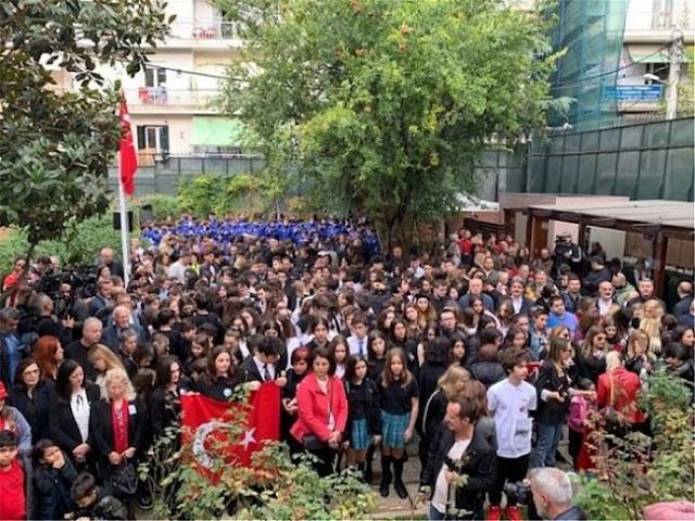 Εκατοντάδες Τούρκοι στη Θεσσαλονίκη για την επέτειο θανάτου του Κεμάλ