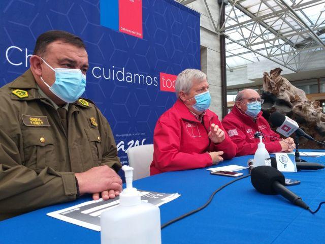 General Yañez, Carlos Geisse y Patricio Navarro
