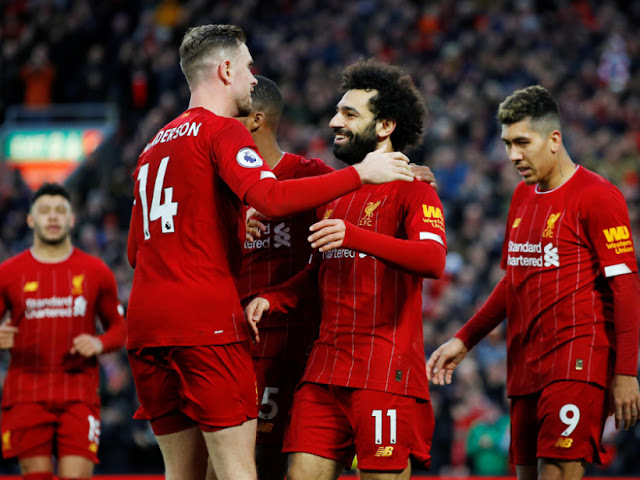 Video Cuplikan Gol: Liverpool 4-0 Southampton (Premier League)