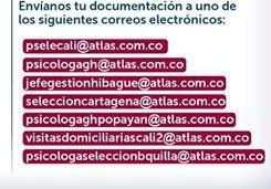 Empleo en Cali CONVOCATORIA SEGURIDAD ATLAS